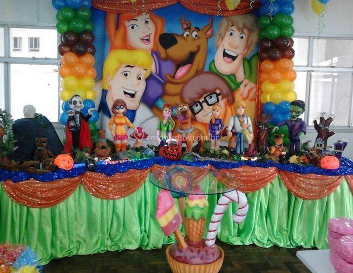 Festa infantil luxo