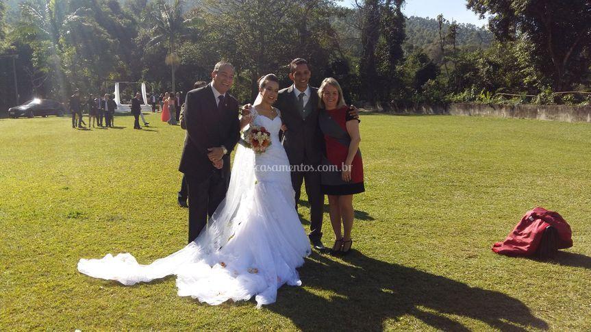Francisco, Tereza e os noivos