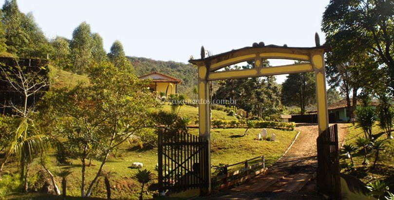 Vista da entrada