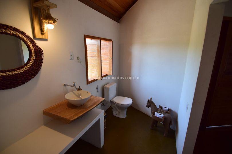 Banheiro do bungalow