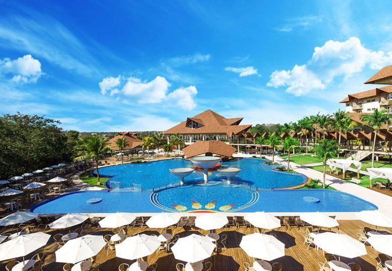 Resorts no Caribe e no Brasil