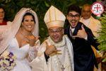 Nathália e thiago expo noivas