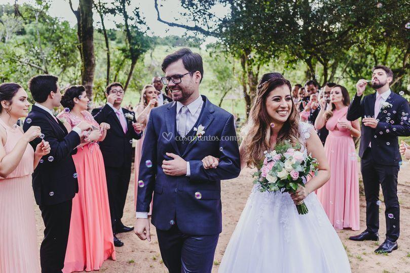 Casamento Por do sol
