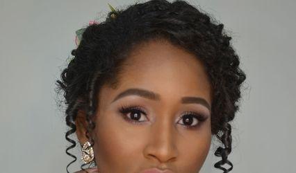 Katiane Bianca Makeup Hair 1