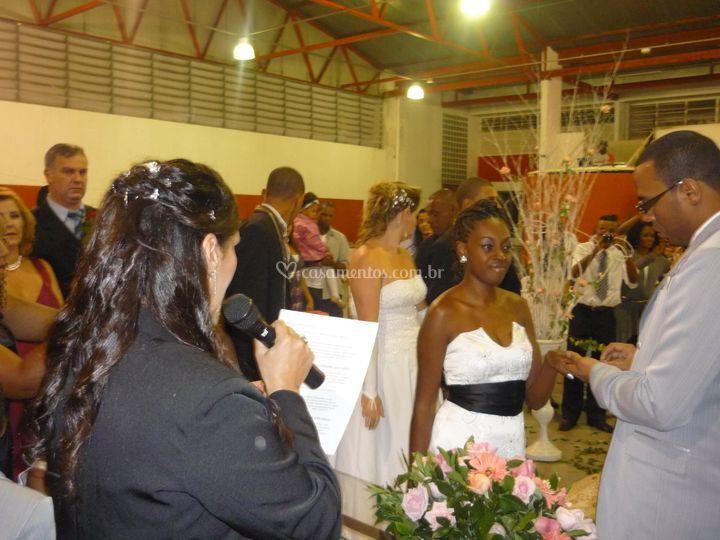 Cerimônia religiosa salão