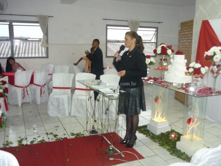 Cerimônia civil salão