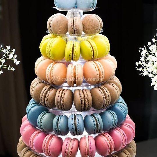 Torre Francesa de Macarons