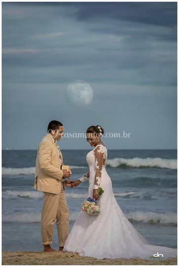 Amor e beira mar