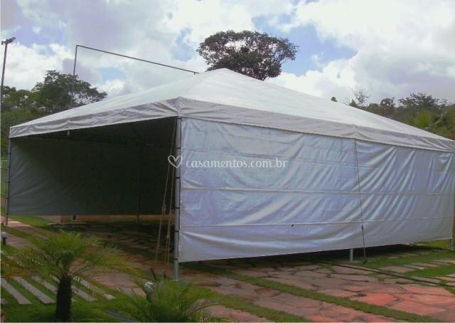 Estale toldos e tendas for Material para toldos correderos