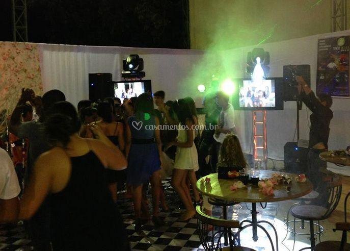 Atmosfera de festa