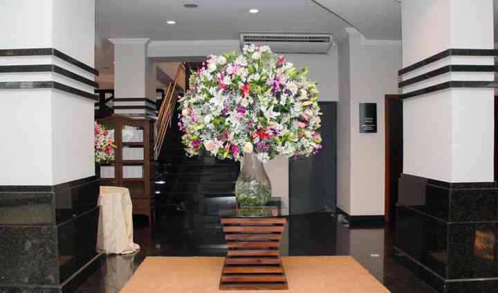 Lobby para recepção