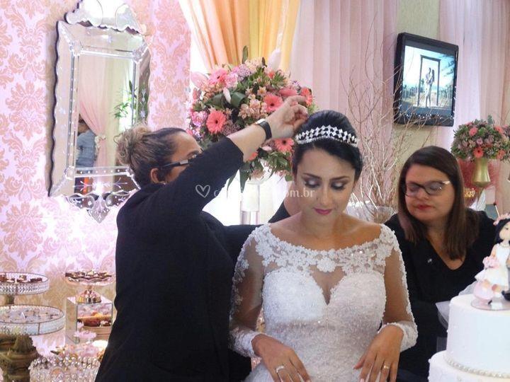 Preparando a noiva
