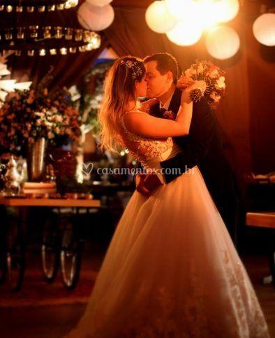 Foto dos noivos