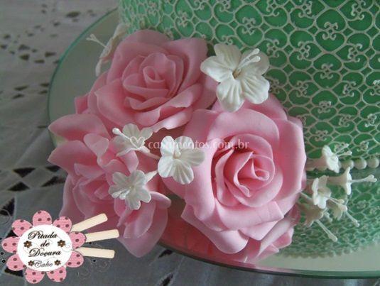 Detalhe: Rosas