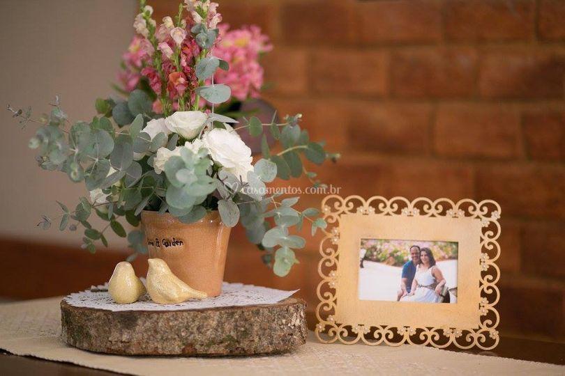 Mesa noivos