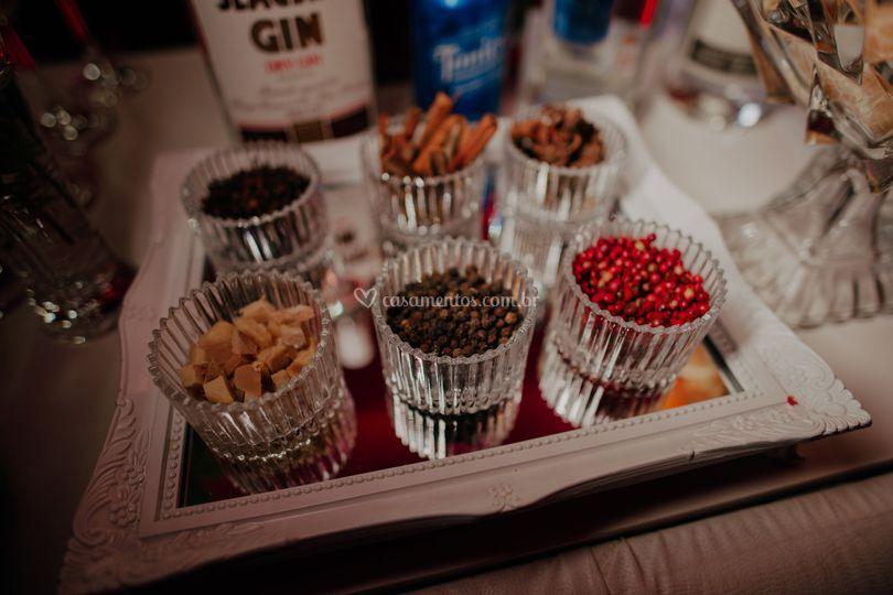 Especiarias para Gin Tônica