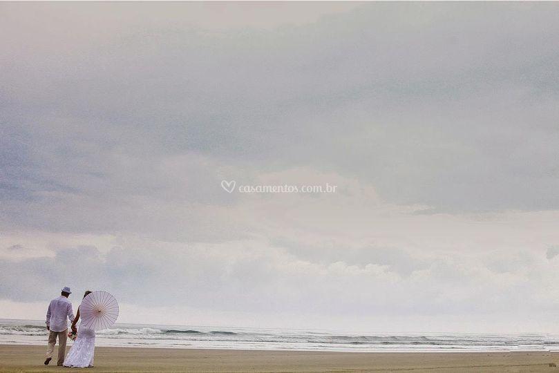 Mar e areia