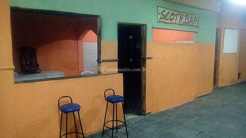 Bar e cozinha