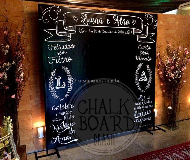 Painel Chalkboard