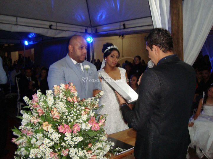 Casamento Elton e Gisele.