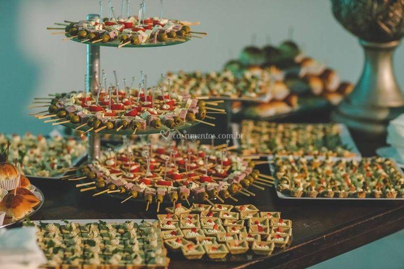 Coquetéis e Ilhas Gastronômica