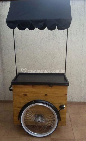 Modelo carrinho gourmet