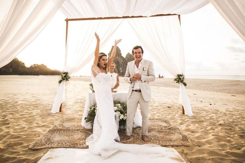 Casamento em uma Ilha