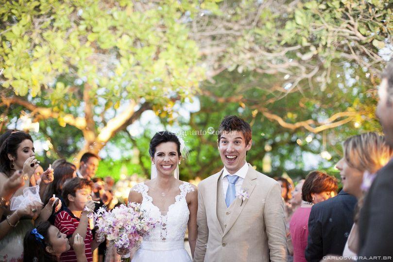 Casamento na casa de campo