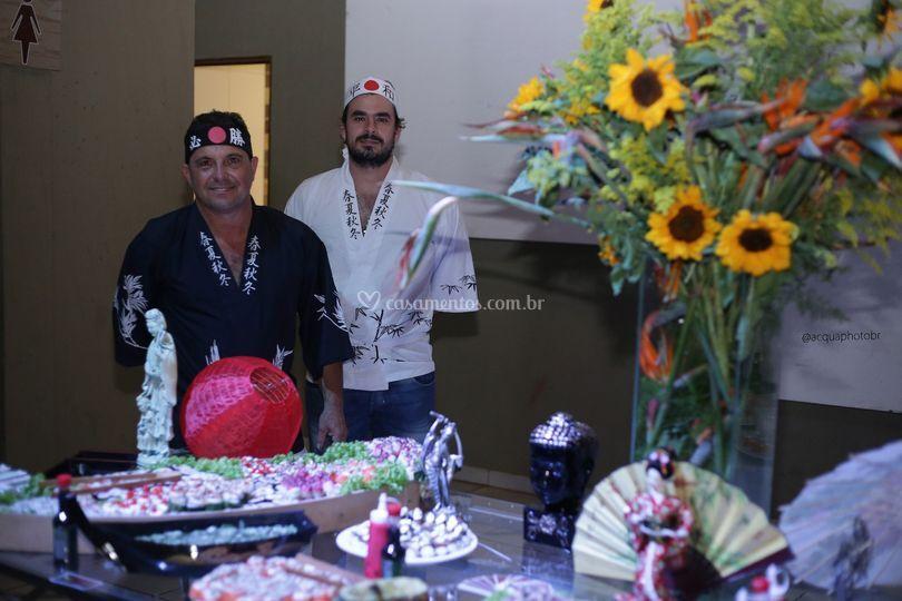 Sushimen Douglas e Diego