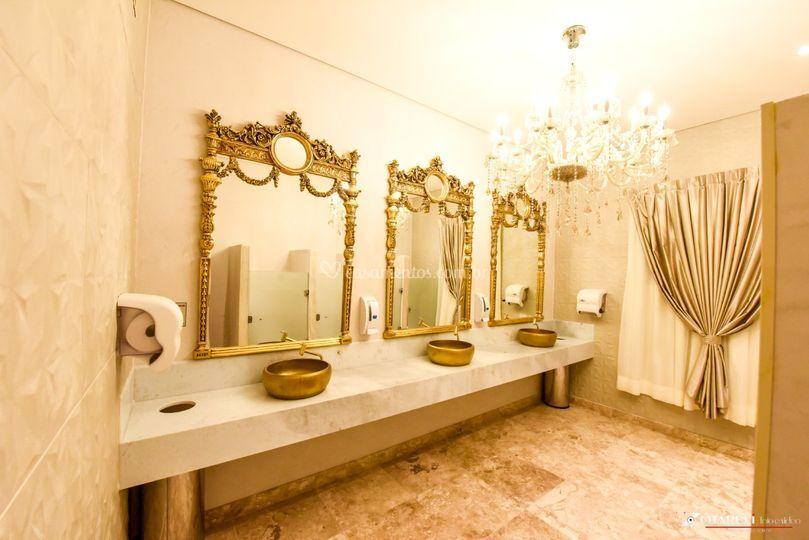 Lindo banheiro feminino