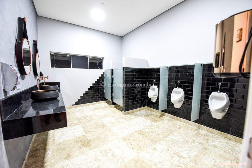 Banheiro masculino moderno