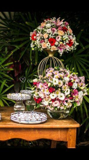 Floral - Mesa de doces