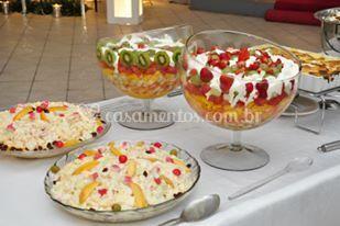 Saladas buffet op art