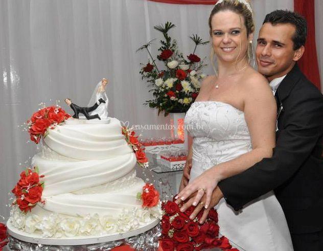 Cortar o bolo