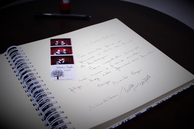 Caderno por dentro