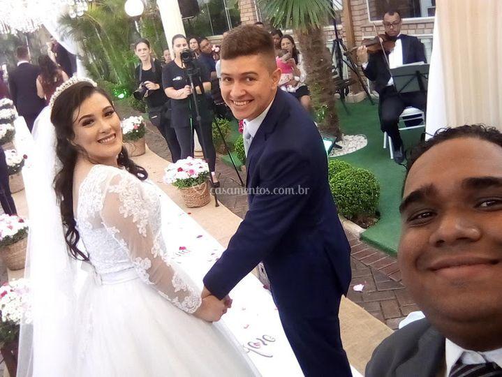 Alegria do casal
