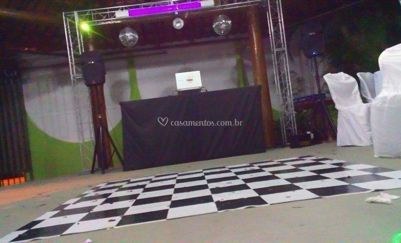 DJ Dourado - Som e Iluminação