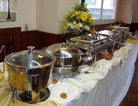 Apresentação do buffet