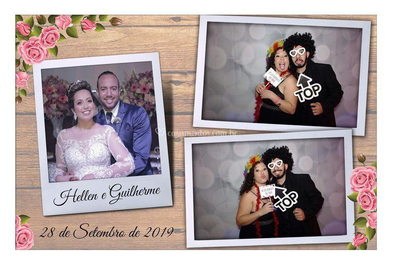 Hellen e Guilherme