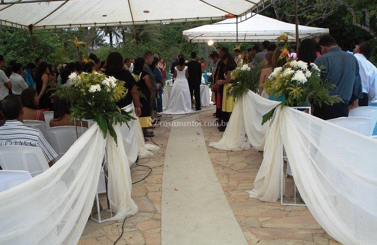 Casamento no local