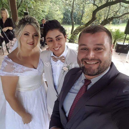 Casamento: Gláucia e Lucimara