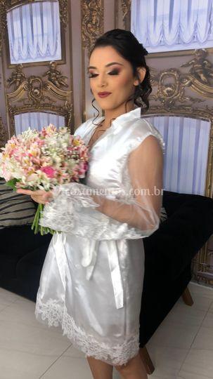 Noiva Kesia - Dia da Noiva