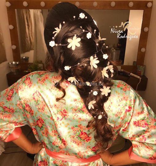 Penteados com Técnica Russa