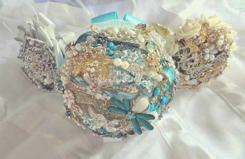 Bouquets de broches 2tamanhos