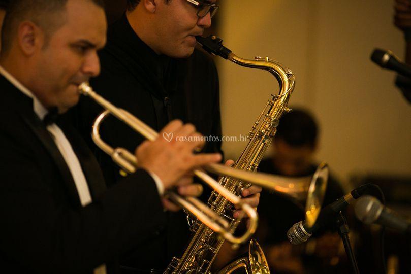 Saxofone e Trompete
