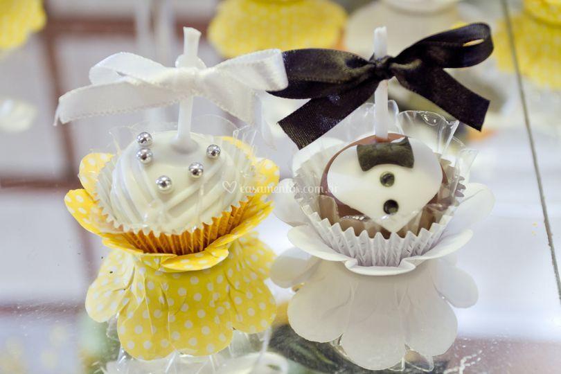 Pop cakes noivinhos