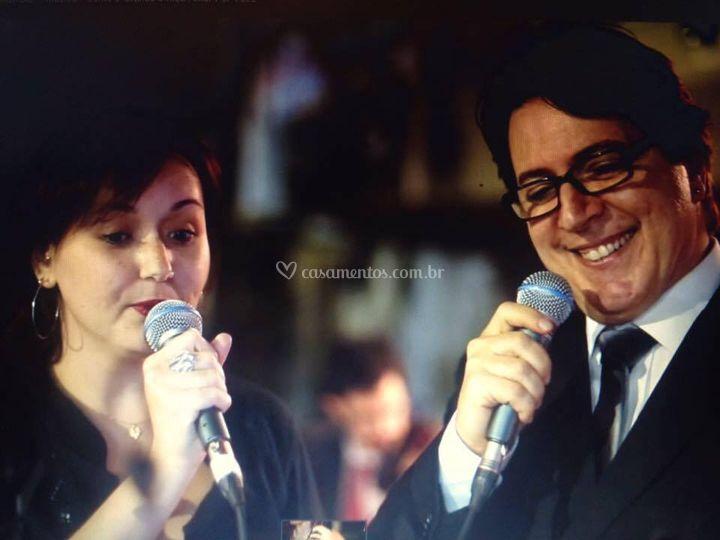 Raquel Antunes e mauro Gorini