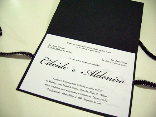 Convite Clássico 01