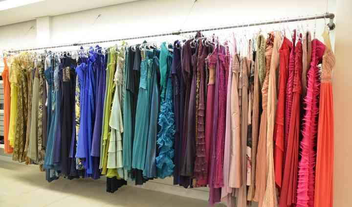 Várias cores e tamanhos