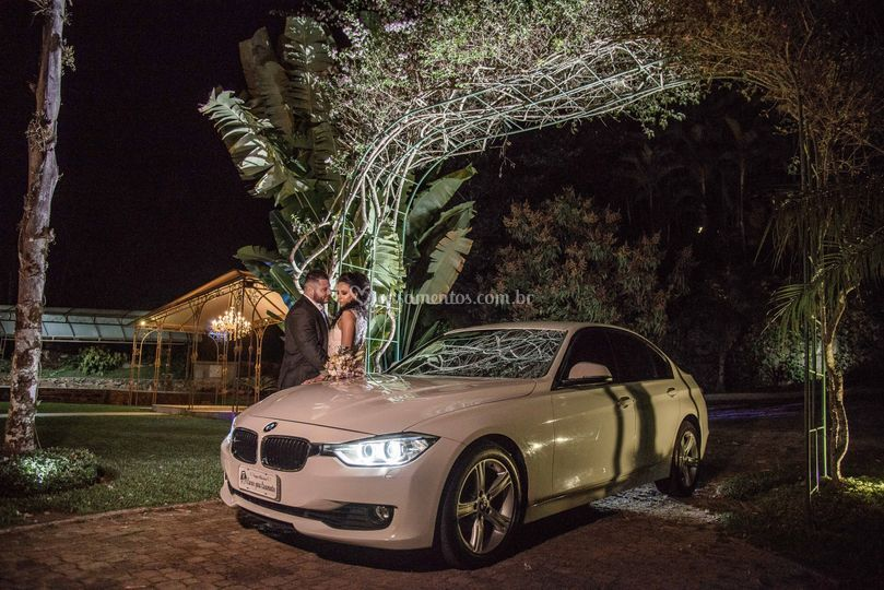 BMW 320i branca